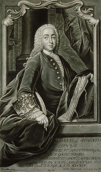 Johann Daniel Schöpflin - Johann Daniel Schöpflin : contemporary engraving