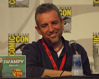 "Jeff ""Swampy"" Marsh - Marsh at the 2009 San Diego Comic Con International"