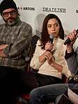 Jemaine Clement and Aubrey Plaza (46780874244).jpg