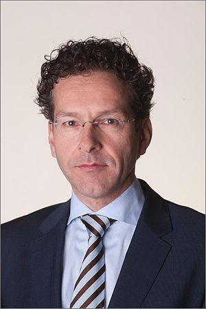 Eurozone - Euro Group President Jeroen Dijsselbloem