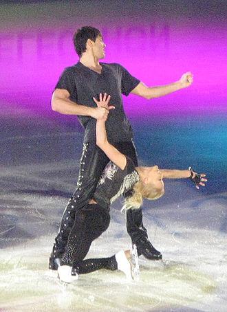 Tatiana Volosozhar - Volosozhar/Trankov at 2012 World Championships.