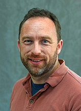 Photo of Jimmy Wales.