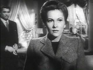 Immagine Joan Fontaine in Suspicion trailer.JPG.