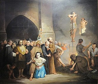 Joaquín Pinto - The Inquisition (date unknown)