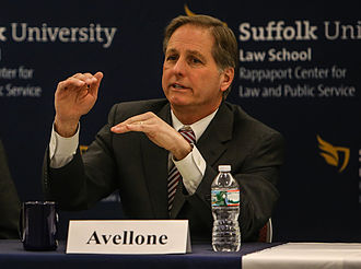 Joseph Avellone - Avellone at Suffolk University Law School in 2014.