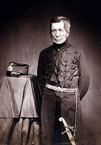 Royal School of Military Engineering - Field Marshal Sir John Fox Burgoyne, 1st Baronet GCB.