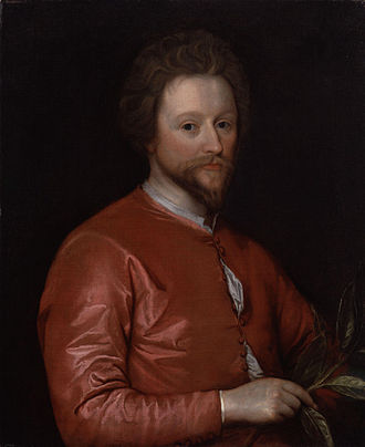 John Fletcher (playwright) - Portrait of John Fletcher, circa 1620. National Portrait Gallery, London.