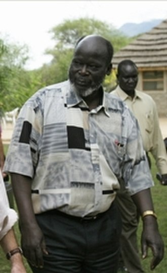 John Garang - Image: John Garang