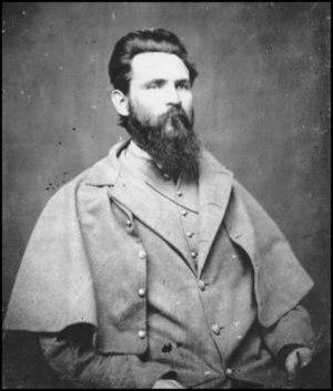 John Gregg (CSA) - John Gregg in Confederate uniform