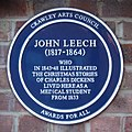John Leech Plaque at Tree House, Crawley.jpg