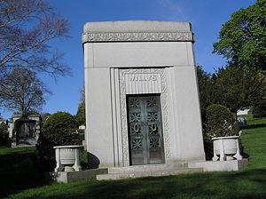 John Willys - The mausoleum of John North Willys