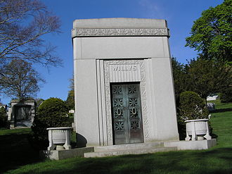 John Willys - The mausoleum of John North Willys