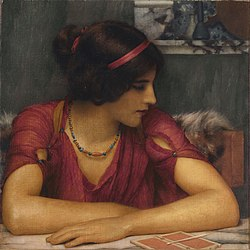 John William Godward - The Letter (A Classical Maiden).jpg