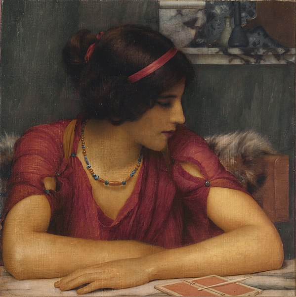 File:John William Godward - The Letter (A Classical Maiden).jpg