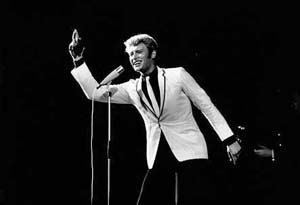 Johnny Hallyday (1965) by Erling Mandelmann