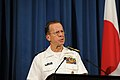 Joint Chiefs Chairman Adm. Mullen Addresses Tokyo Press (5941727161).jpg