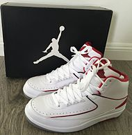 huge selection of cbf15 70080 Nike Air Jordan II, (White Red Colorway)