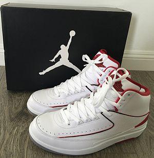 Air Jordan - Nike Air Jordan II, (White/Red Colorway)