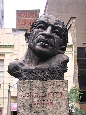Jorge Eliecer Gaitan-Busto-Medellin