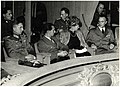 Joseph Goebbels, Arthur Seyß-Inquart, Georg-Hans Reinhardt in The Hague, 1942.jpg