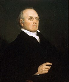 Oil portrait of Joseph Story