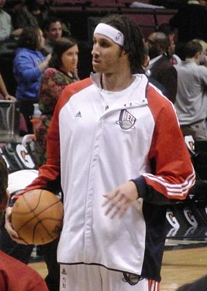 Josh Boone (basketball) - Image: Josh Boone NY Nets