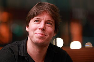 Joshua Bell - Bell after a performance with the San Francisco Symphony, California, October 24, 2010