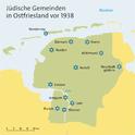 Die jüdischen Gemeinden Ostfrieslands vor 1938