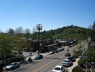 Julian, California - Main Street in Julian