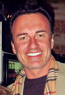 Julian McMahon Australian actor and former fashion model