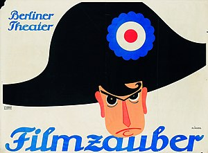 Filmzauber - Filmzauber poster by Julius Klinger, 1914, Poster Museum at Wilanów