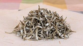 Japanese anchovy - Image: Jung myeolchi (closeup)