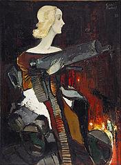Madonna with Machine Gun
