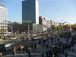 Kızılay Square in Ankara, Turkey.JPG