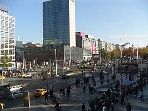 Kızılay Square in Ankara, Turkey