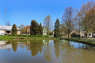 Kšice - Image: Kšice, common pond