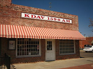 "KDAV - KDAV was called the ""Buddy Holly Station""."