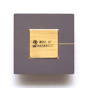 7400 series - Part of the 7400 series: cascadable 8-bit ALU Texas Instruments SN74AS888