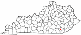 Barbourville – Mappa