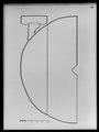 Kappa av svart sidenrips med spetsgarnering - Livrustkammaren - 8797.tif