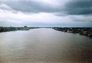 Kapuas River river in Kalimantan, Indonesia