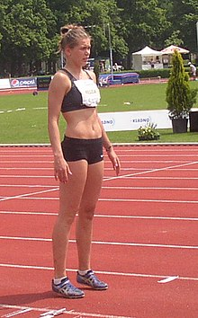 Karolina Kedzia at TNT Express Meeting in Kladno 9June2013 111.jpg
