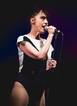 Kathleen Hanna - Hanna performing in London, 2016