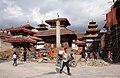 Kathmandu-Durbar Square-27-Mini vor Vishnu-Taleju-Pratapamalla-Jagannath-Agmchhen-2015-gje.jpg