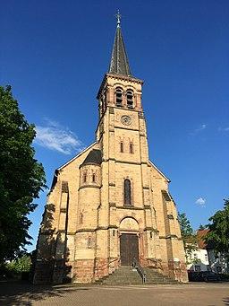 Katholische Kirche St. Wendalinus Großrosseln (Juni 2021)