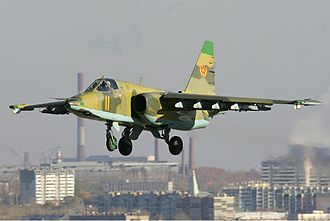 Armed Forces of the Republic of Kazakhstan - A Kazakhstan Su-25