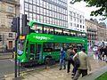 Keighley Bus Company bus, the Headrow, Leeds (20th October 2016) 001.jpg