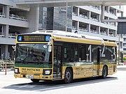 Keihin Kyuko Bus H4669 Haneda Airport Terminal Shuttle (1-2-3) Blue Ribbon Hybrid.jpg