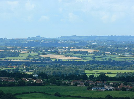 Kelston Round Hill seen from Cley Hill - geograph.org.uk - 934590