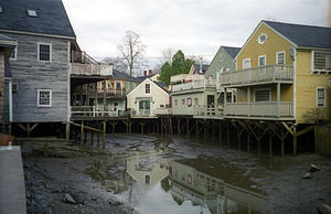 Kennebunkport, Maine - The waterfront